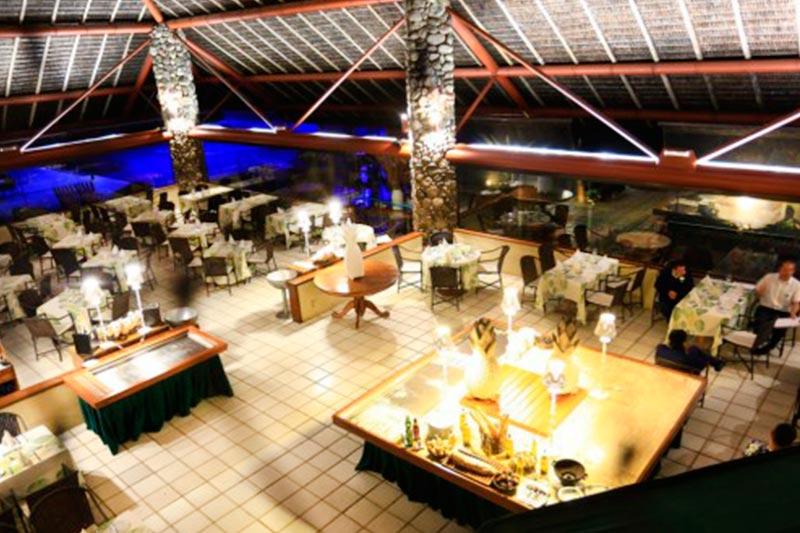Restaurante Escuna visto de cima